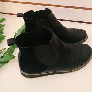 EMU Australia Leather Booties | Women's Size 8